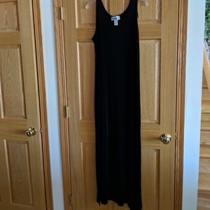 Black Knit Maxi Dress Size 14